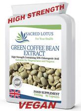 Estratto di chicco di caffè verde 5000mg x 90 Capsule 50% acido clorogenico Perdita di peso