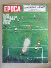 EPOCA 767 1965 Inserto Guerra del Piave Vittoria Inter Coppa dei Campioni [G803]