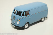 SCHUCO VW VOLKSWAGEN TRANSPORTER T1 KASTENWAGEN VAN BUS BLUE VN MINT CONDITION