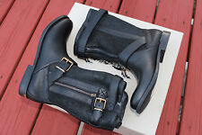 BURBERRY GRANTVILLE BLACK 1 LEATHER #7us $895