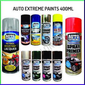 Auto Extreme Professional Aerosol Spray Paint Satin Gloss Matt Primer 400ml