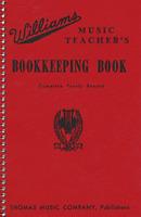 Williams Music Teacher's Bookkeeping Book - Record Book