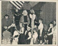 1937 Dr Fernando de Los Rios Spanish War Refugee Children Benefit Press Photo