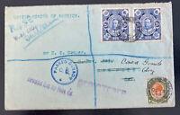 1916 West End South Africa Registered Censored Cover To Casa Grande AZ Usa