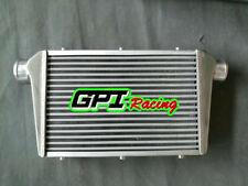 """FMIC Universal Aluminum Intercooler for 450X300X75mm 3"""" In/Outlet 75mm Bar&Plate"""