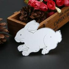 Metal Cutting Dies Stencils Cartoon Rabbit Scrapbooking Paper Album Decor Craft