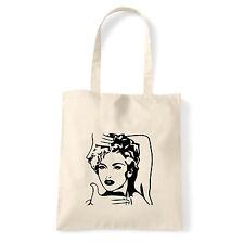 Art T-shirt, Borsa shoulder Like a Virgin, Natural, Shopper, Mare