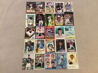 HALL OF FAME Baseball Card Lot 1979-2020 TOM SEAVER NOLAN RYAN WILLIE MAYS +
