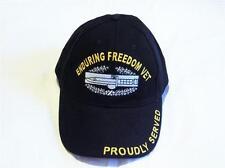 ENDURING FREEDOM VETERAN EMBROIDERED BASEBALL CAP