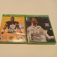 Lot Of 2 Xbox One Games: Madden 19 & FIFA18