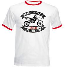 Honda XR650R 2004 inspired vintage motorbike art shirt tshirt