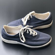 Women's Grasshopper Tennis Shoes Espadrilles Flats Sz. 7 1/2 Blue Casual