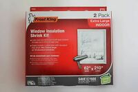 Frost King Extra Large Window Insulation Kit - 2 Pak