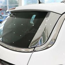 For Jeep Compass 2017 2018 Chrome Rear Window Trims Wing Side Moulding Cover 2pc