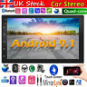 "Android 2 DIN 7"" Car Stereo GPS Sat Nav WiFi 4G Radio MP5 Player w/Rear Camera"