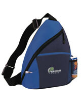 Pickleball Marketplace - Sling Bag - Carry Pickleball Paddles - Blk/Navy/Royal