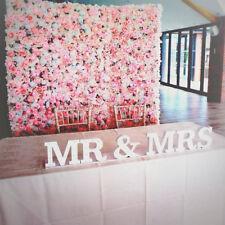 Artificial Silk Flower Wall Panels Background Wedding Decor Pink Champagne