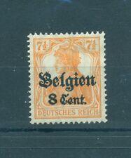 BELGIUM - GERMAN OCCUPATION 1914/18 Mi. 13 8C