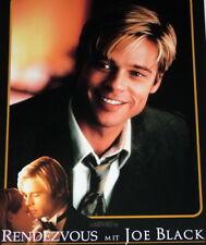 Brad Pitt rendezvous with Joe Black Original Cinema Lobby Cards 8 DESIGNS 1999