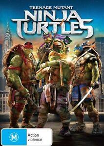 Teenage Mutant Ninja Turtles : NEW DVD : 2014 Remake :