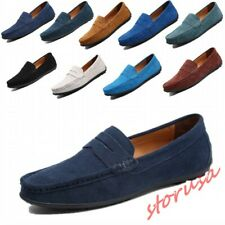 Size 6-12 Mens 10 colors Moccasin Driving Shoes Slip On Loafers Suede Shoes