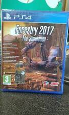 Forestry 2017 the Simulation   playstation 4  PS4   NUOVO!!