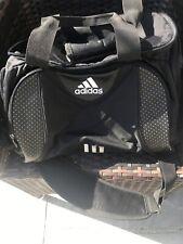 Adidas Sports Bag Shoulder Strap Side Compartments Black Bargain