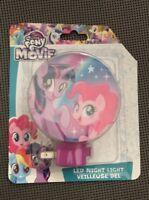 My Little Pony The Movie LED Night Light Brand New Twilight Sparkle Pinkie Pie