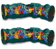 NEW 2 Pack Super Pet Connectable Crinkle Tunnels Colors May Vary FREE SHIPPING