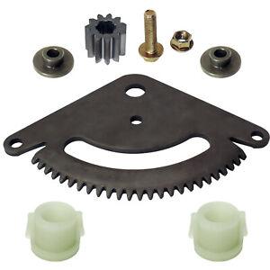 Fits John Deere L118 L120 L130 Selective Sector Gear Pinion Gear w/Bushings