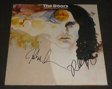 JOHN DENSMORE & ROBBY KRIEGER SIGNED WEIRD SCENES INSIDE THE GOLD MINE LP DOORS