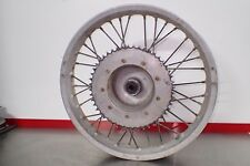 "Bultaco rear wheel hub rim Akront 18"" Pursang Alpina Sherpa 17mm sprocket"
