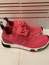Adidas Originals NMD Racer PK Men's Size 9.5 Primeknit Boost Pink Shoes CQ2442