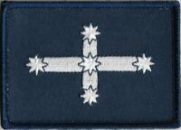 Eureka Stockade Flag Patch with Hook & Loop Backing, Quality !