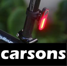 Arrière 7 led rechargeable usb lumière rouge-bright lights lampe 5 modes queue clignotant