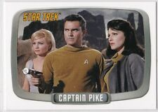 STAR TREK THE ORIGINAL SERIES 40TH ANNIVERSARY CAPTAIN PIKE INSERT SINGLE CP9