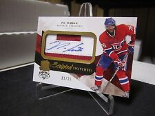 PK SUBBAN RC AUTO CUP #22/35 2 COLOR PATCH SCRIPTED SWATCHES ROOKIE SS-PS 2010