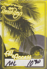 Beach Boys Concert Backstage Pass All Access or Meet & Greet Laminate or Cloth