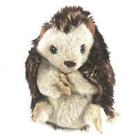 "Folkmanis Plush Puppet Full Body Hedgehog Pretend Play Stuffs Inside Itself 7"""