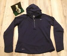 Nike Dri-Fit Women's Size XL Vavy 1/4 Zip Thermal Pullover Hoodie Minimal Wear