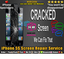 IPHONE 5S SCREEN LCD GLASS REPLACEMENT SERVICE NEXT DAY REPAIR & RETURN