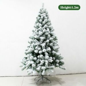 New Artificial Christmas Tree Decoration Led Door Wall Pine White Big Nordic
