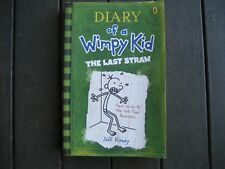 DAIRY OF A WIMPY KID - The Last Straw by Jeff Kinney (Paperback, 2008) - CHEAP