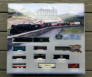 BACHMANN 1/160 N SCALE EMPIRE BUILDER TRAIN SET ITEM # 24009 FACTORY SEALED NEW