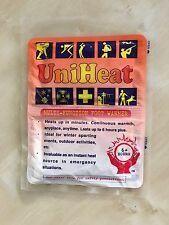 25er Set Uniheat Fußwärmer Thermopad für bis zu 6 Stunden Wärme