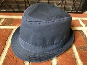 The Children's Place Blue grey bucket fedora hat boys size M 7-8 V8548L0001