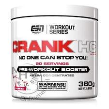 ESN Crank HC Pre-Workout (78,68€/Kg) 380g Dose Fresh Berry !Ab 2 Dosen +BONUS