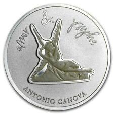 Niue 2012 Divine Sculptures Cupid & Psyche 1 Oz Silver Coin Holey & Damp Set