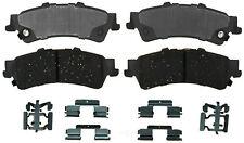 Disc Brake Pad Set-Ceramic Disc Brake Pad Rear ACDelco Advantage 14D792CH