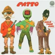 """PATTO """"HOLD YOUR FIRE"""" CD NEUWARE"""